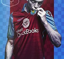 Jack Grealish Aston Villa Poster Design by NPDesigns