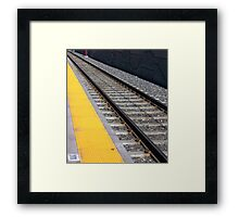 RAILWAY IN ANOTHER DIRECTION Framed Print