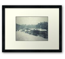 Postcard from the past... Framed Print