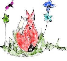 Fox Scribbler by Aimee Stewart