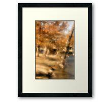 Painted scene 2 Framed Print