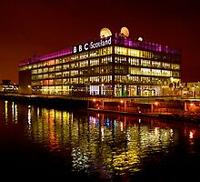 Floating BBC Scotland by Katie Grainger