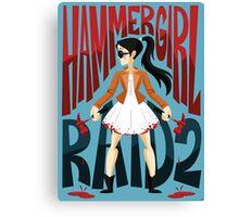 Hammer Girl Canvas Print
