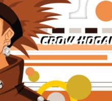 "Crow ""The Bullet"" Hogan  Sticker"
