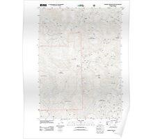 USGS Topo Map Oregon Soldier Camp Mountain 20110810 TM Poster