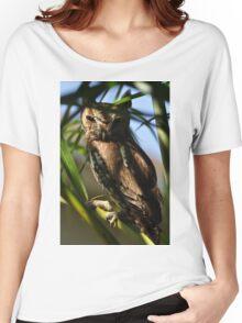 Eastern Screech Owl, As Is Women's Relaxed Fit T-Shirt