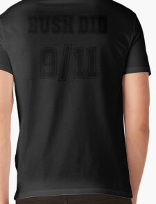 Bush Did 9/11 Mens V-Neck T-Shirt