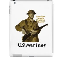 US Marines -- Another Notch Chateau Thierry  iPad Case/Skin