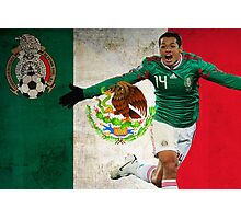 Chicharito Mexico Poster Design Photographic Print