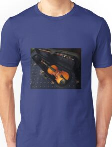 Violin and Bow in Case Unisex T-Shirt