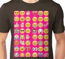 pink emoji Unisex T-Shirt
