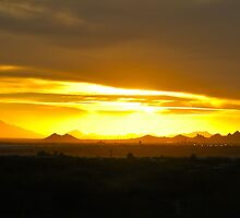 Tucson, Arizona Sunset by Doug Graybeal