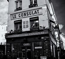 Restaurant Le Consulat at Montmatre - Paris by Ronny Stiffel