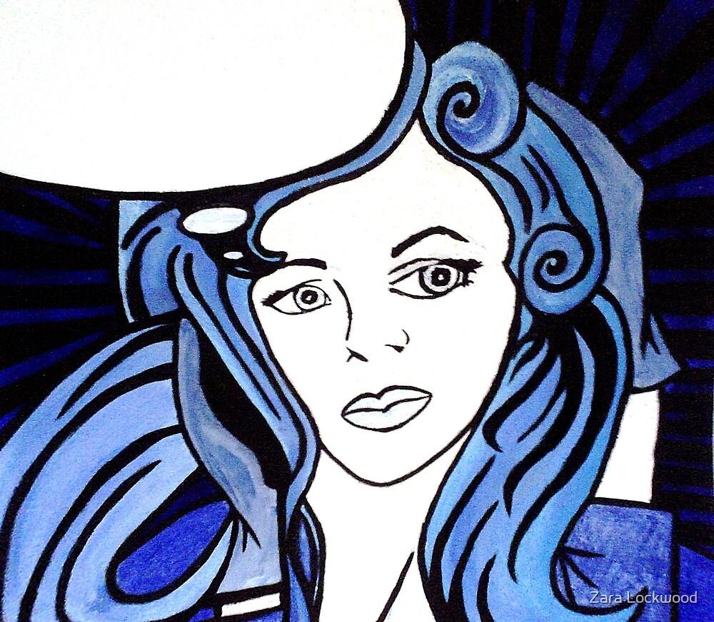 Blue Bird Version 1 by Zara Lockwood