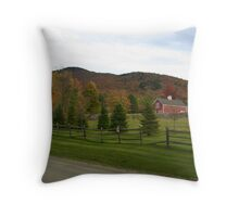 Classic Vermont (Fall) Throw Pillow