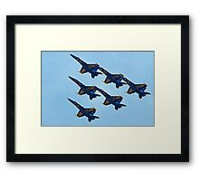 Sky Walkers Framed Print