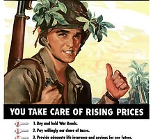 We'll Take Care Of The Rising Sun -- You Take Care Of Rising Prices by warishellstore