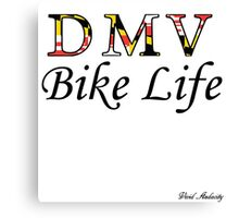 DMV BIKE LIFE  Canvas Print