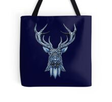 Winter Stag Tote Bag