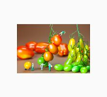 Colorful Tomato Harvest miniature art Unisex T-Shirt