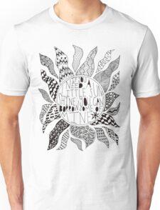 TFB Sunshine Zentangle Unisex T-Shirt