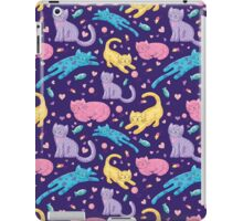 Playful Kittens Pattern iPad Case/Skin