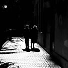 Walking into the shadows of life.. by Berns