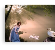 Lady of the lake. Canvas Print