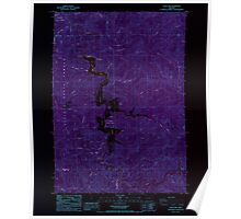 USGS Topo Map Oregon Loon Lake 280582 1985 24000 Inverted Poster