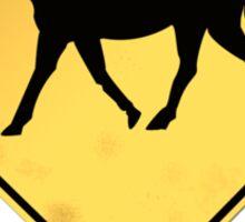 Headless Horseman Sign Sticker