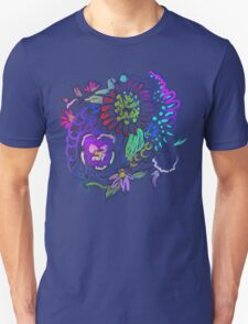 RETRO-Psychedelic Floral T-Shirt