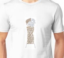 USWNT WWC Trophy Names w/ White Base Unisex T-Shirt
