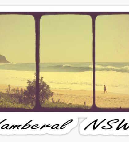 Wamberal NSW Sticker