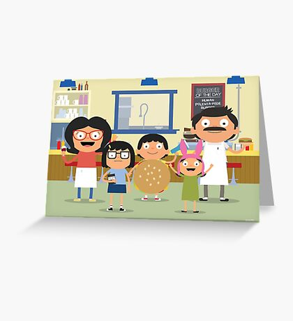 The Belchers Greeting Card