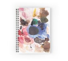 Artists Palette Spiral Notebook