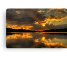 Promise - Narrabeen Lakes,Sydney - The HDR Experience Canvas Print