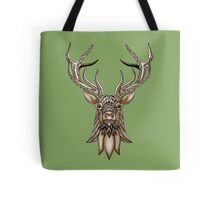 Brown Stag Tote Bag