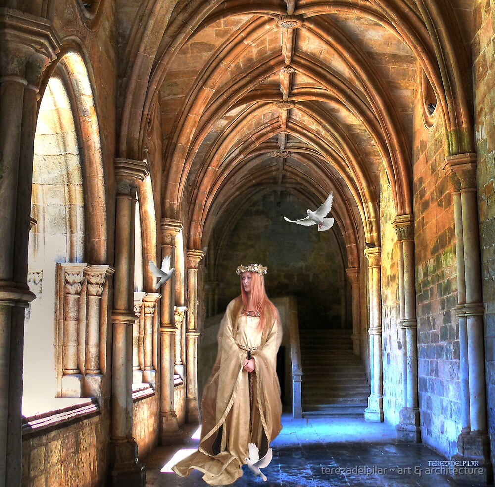 poetry in the cloister... by terezadelpilar ~ art & architecture