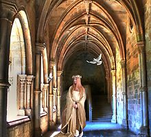 poetry in the cloister... by terezadelpilar~ art & architecture