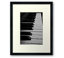 Let's make melody Framed Print