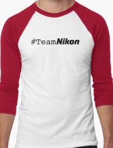 #teamnikon Men's Baseball ¾ T-Shirt