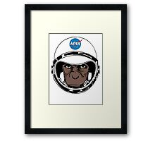 Apes to Mars Framed Print