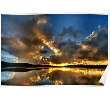 Carpe Diem ! - Narrabeen Lakes,Sydney - The HDR Experience Poster