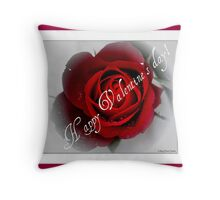 Happy Valentine`s day! Throw Pillow