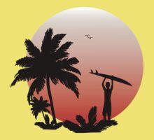 Silhouette Malibu by ThunderArtwork
