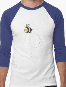 I Watch the Bees Men's Baseball ¾ T-Shirt