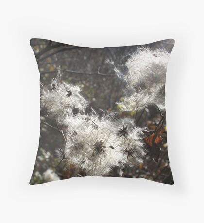Spreading Seeds Throw Pillow
