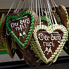 Traditional gingerbreads, Erlangen, Germany. by David A. L. Davies