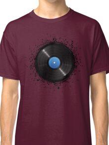 33 Vinyl Record Music Notes Classic T-Shirt