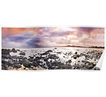Pastle Sunset-Saltwater Reserve NSW Poster